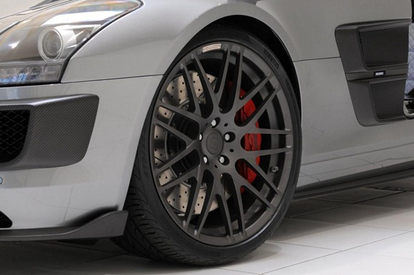 BRABUS 700 Biturbo based on Mercedes SLS AMG 6