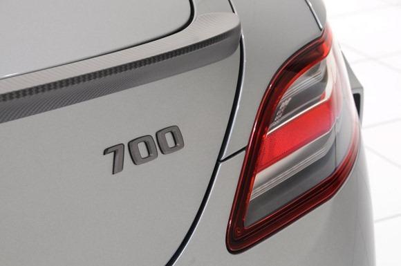 BRABUS 700 Biturbo based on Mercedes SLS AMG 7
