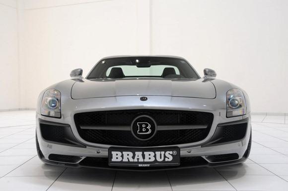BRABUS 700 Biturbo based on Mercedes SLS AMG 8