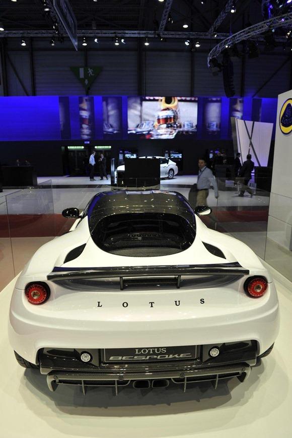 Lotus Evora Mansory Bespoke Concept live in Geneva 2