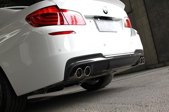 BMW 5 Series M-Sport aero package by 3D Design 15