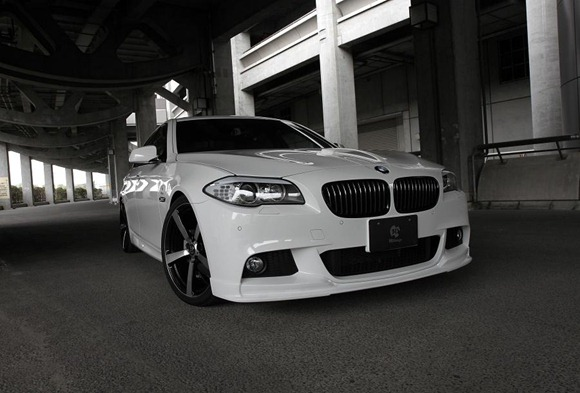 BMW 5 Series M-Sport aero package by 3D Design 2