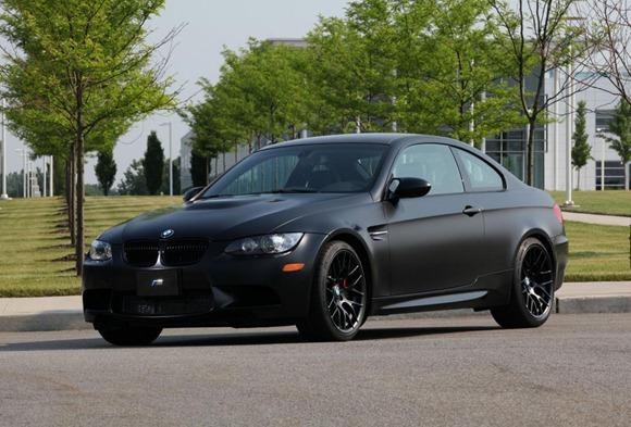 BMW M3 Frozen Black special editon 5