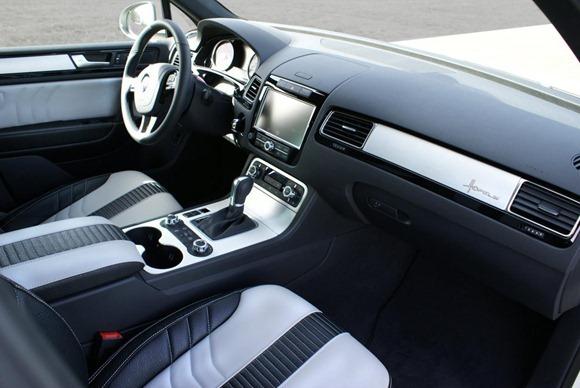 Volkswagen Touareg II Royal GT 470 by Hofele Design 24