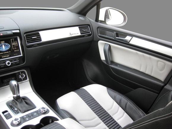Volkswagen Touareg II Royal GT 470 by Hofele Design 27