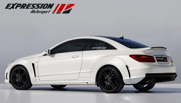 Mercedes E-Class coupe by Expression Motorsport  2