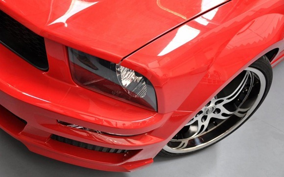 Ford Mustang styling kit by Prior Design 6