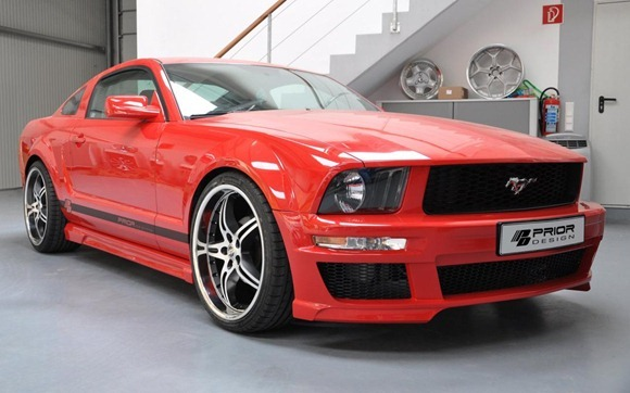 Ford Mustang styling kit by Prior Design 8