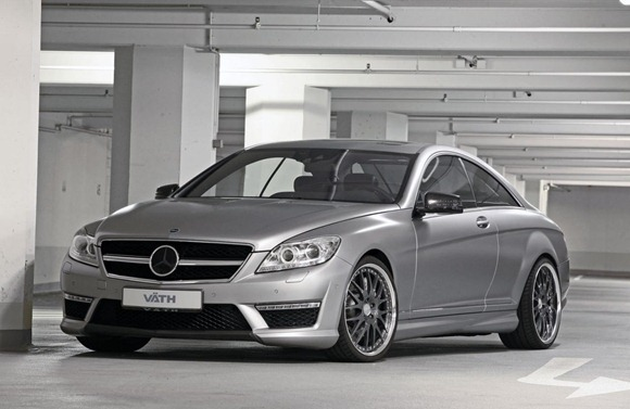 Mercedes CL63 AMG by VÄTH 1
