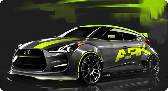 Hyundai Veloster by ARK Performance 1