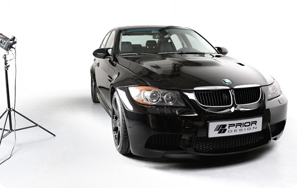 Wide-body kit for the E90 BMW 3-Series (11)