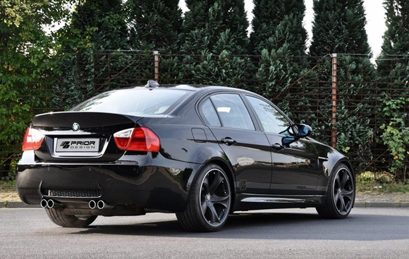 Wide-body kit for the E90 BMW 3-Series (12)