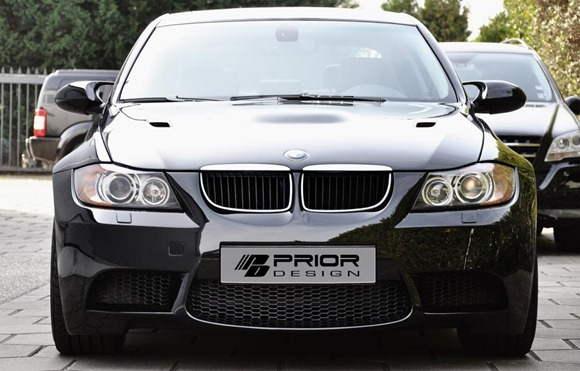 Wide-body kit for the E90 BMW 3-Series (1)