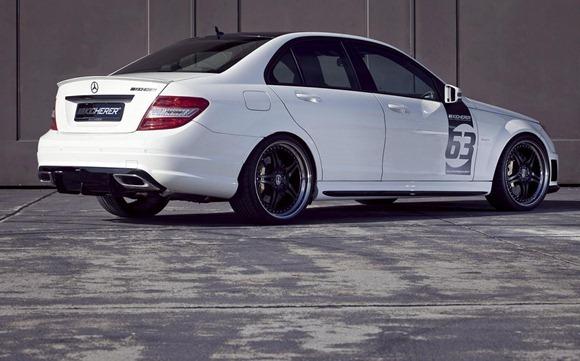 Mercedes C63 White Edition by KICHERER