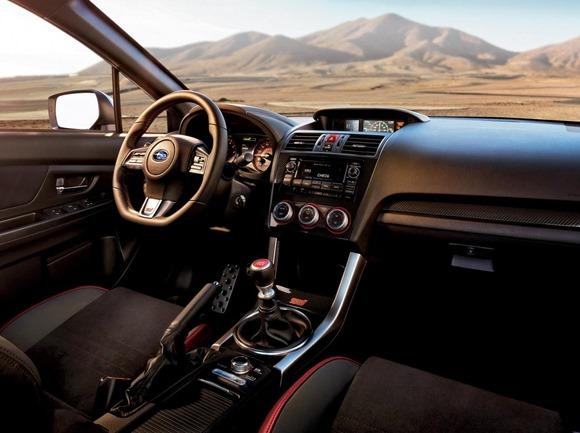 2015 Subaru WRX STI