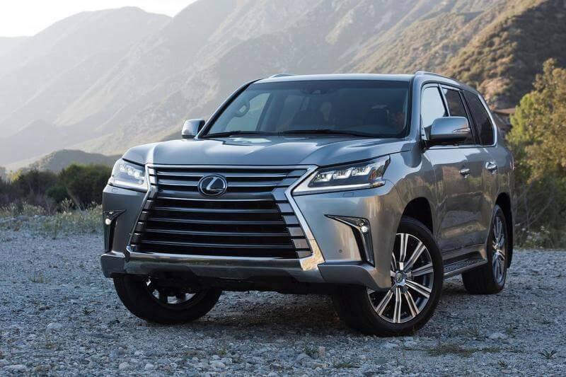 Lexus представил фейслифт LX 570 2016