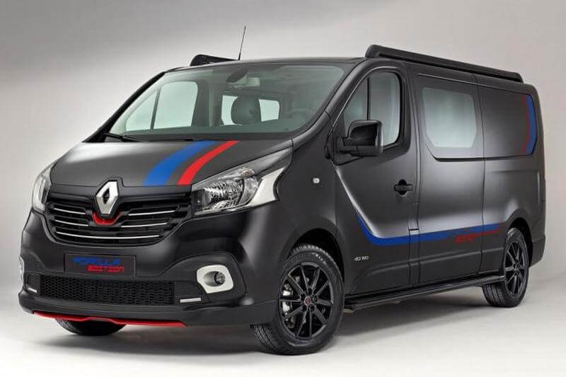 Renault выпустит Trafic Formula Edition