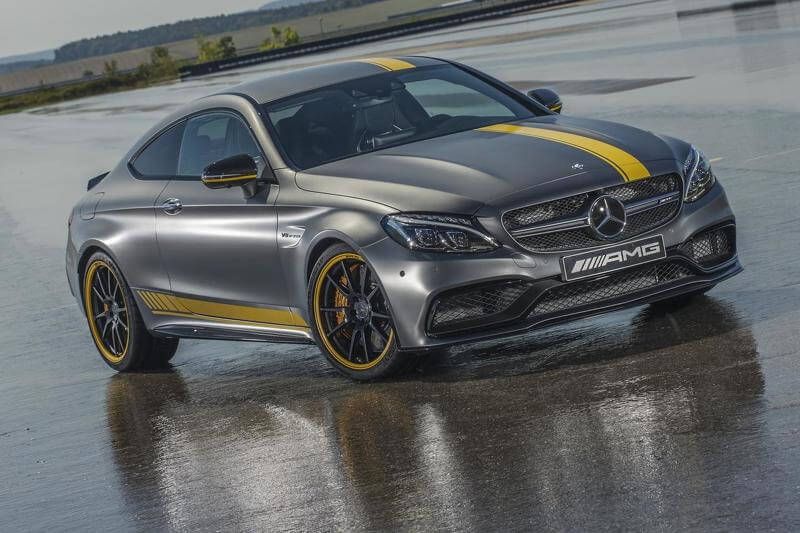 Представлен Mercedes-AMG C63 Coupe Edition 1
