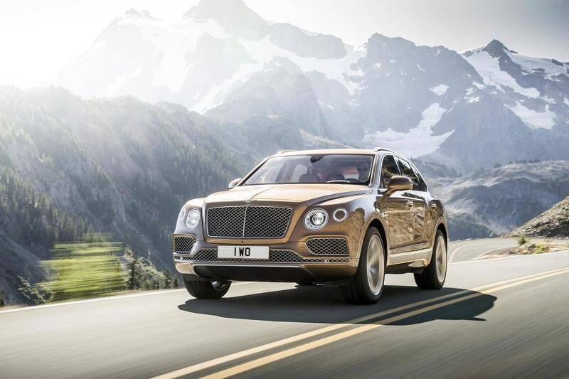 Bentley Bentayga — официально