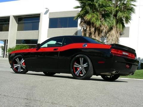 2009-Mr-Norms-Super-Dodge-Challenger-Black-Rear-Angle-1024x768