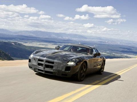 Mercedes Benz SLS AMG1
