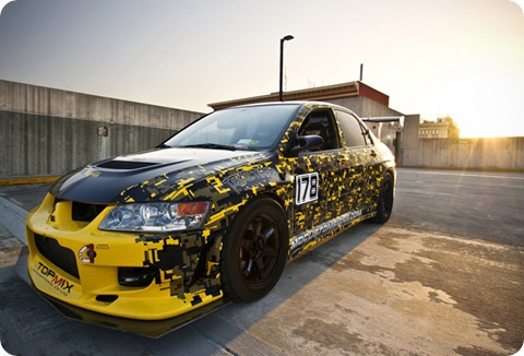 Mitsubishi EVO 8 Time Attack
