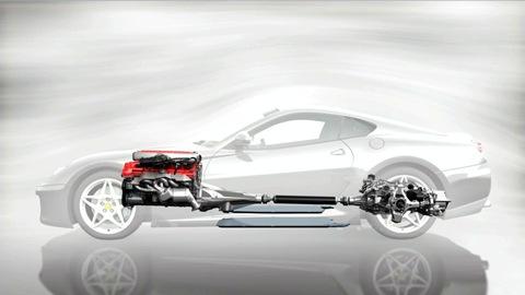 Ferrari 599 Hybrid powertrain