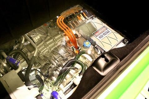 Ferrari 599 Hybrid electric motor