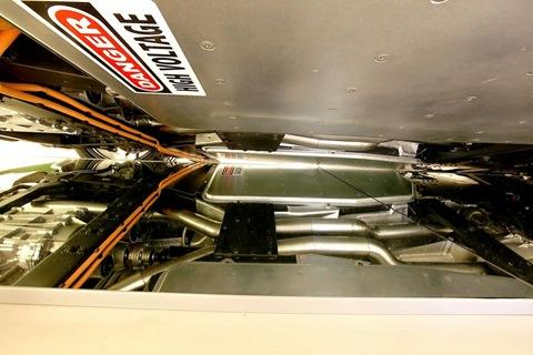 Ferrari 599 Hybrid battery