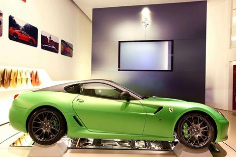 Ferrari 599 Hybrid spy photo