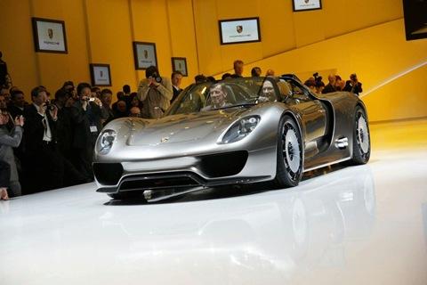 Porsche 918 Spyder Super-Sport Hybrid concept