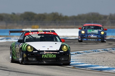 911 GT3 Cup Alex Job Racing