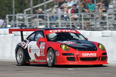 911 GT3 Cup GMG Racing
