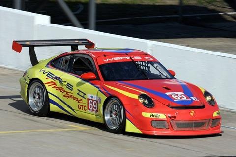 911 GT3 Cup WERKS II Racing
