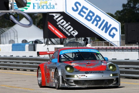 911 GT3 RSR Flying Lizard Motorsports
