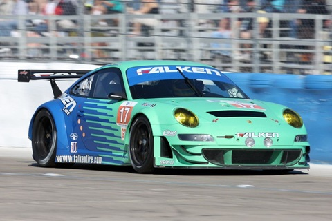 911 GT3 RSR Team Falken Tire