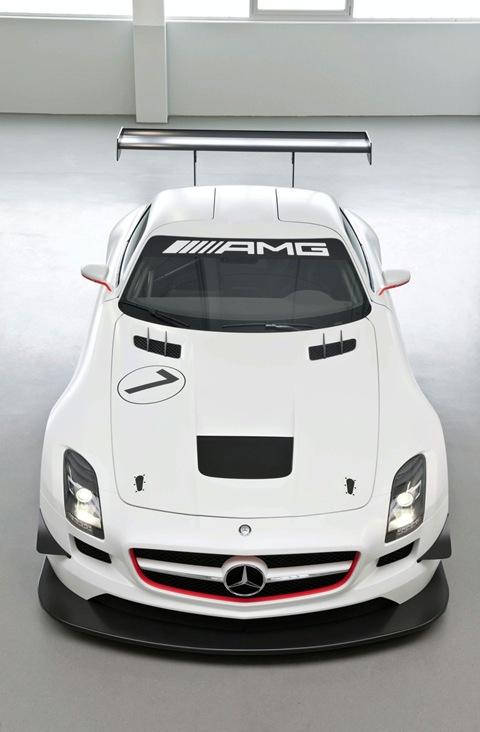 2011 Mercedes SLS AMG GT3 1