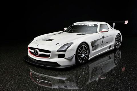 2011 Mercedes SLS AMG GT3 3