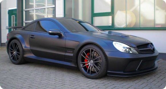 BRABUS VANISH SL65 AMG Black Series 1