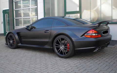BRABUS VANISH SL65 AMG Black Series 2
