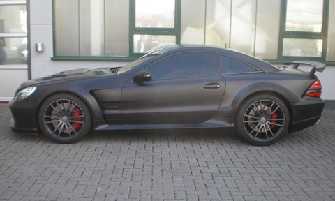 BRABUS VANISH SL65 AMG Black Series 3