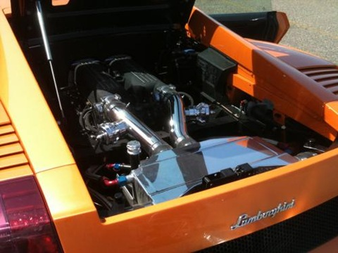 Lamborghini Gallardo Superleggera Twin Turbo by Underground Racing