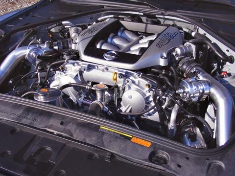Switzer P800 Nissan GTR 5