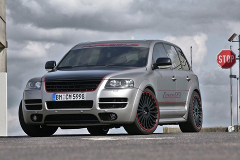 VW Touareg W12 Sport Edition by CoverEFX 11