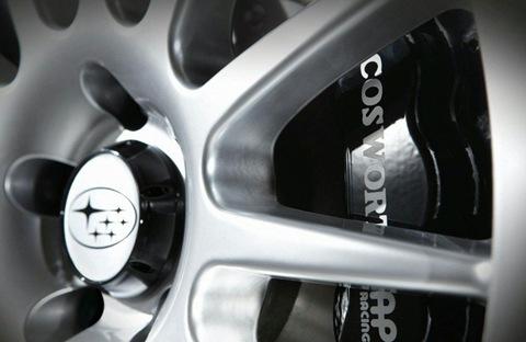 2011 Cosworth Impreza STI CS400 4