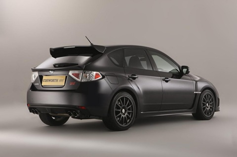 2011 Cosworth Impreza STI CS400 9