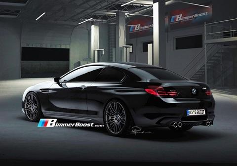 2012 BMW M6 F12 Rendering 1