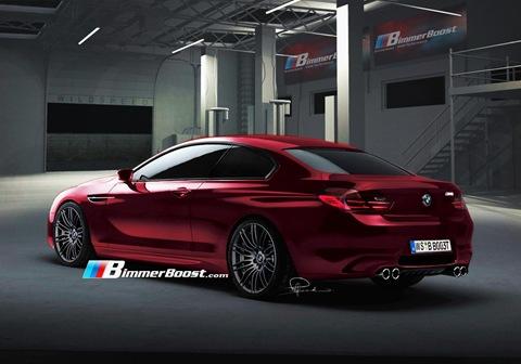 2012 BMW M6 F12 Rendering 2