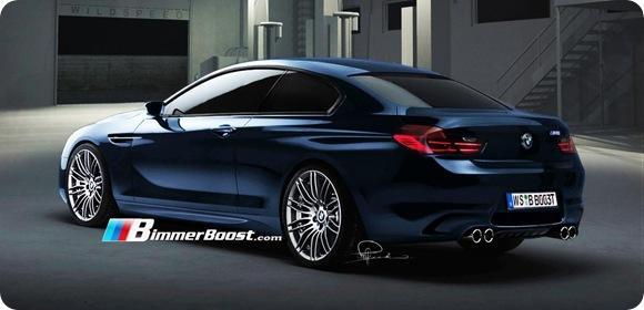 2012 BMW M6 F12 Rendering 3