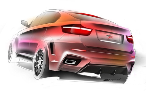 BMW X6 Interceptor by Met R 15